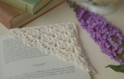 Lotte Lace Corner Bookmark
