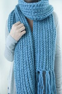 The Mammoth Crochet Scarf