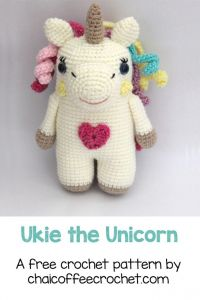 Ukie the Crochet Unicorn