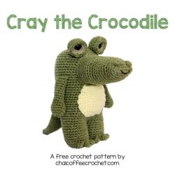 Cray the Crochet Crocodile