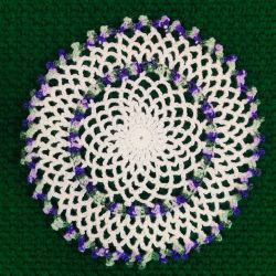 Easy To Make Crochet Chain Lace Doily