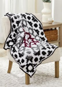 Graphic Motif Throw
