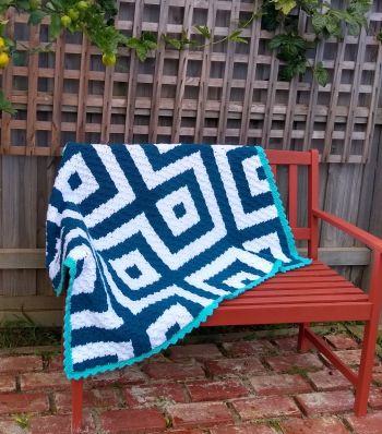 Connected Squares Blanket