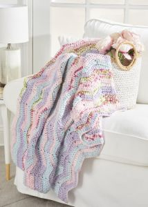 Cozy Chevron Throw