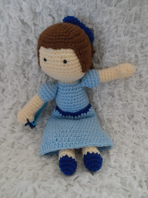 Crochet Patterns Galore Wendy Peter Pan Inspired Doll