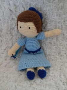 Wendy (Peter Pan) Inspired Doll