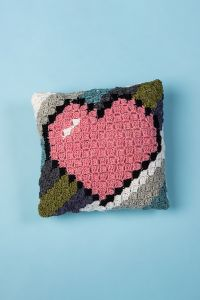Love Squared C2C Pillow