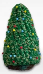 Christmas Tree Pincushion