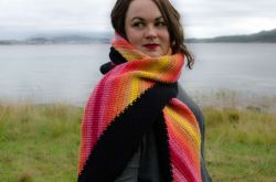 Diagonal Sunset Wrap