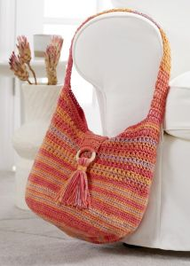 Boho Cotton Hobo Bag