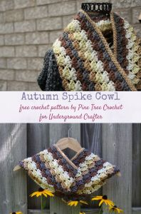 Autumn Spike Cowl