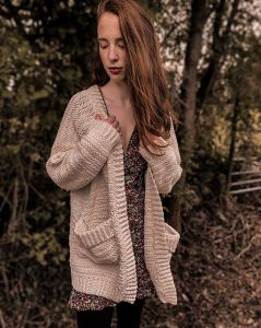 Grainne Pocket Cardigan