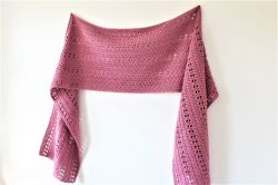 Orla Top Down Shawl