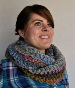 Long Crochet Cowl