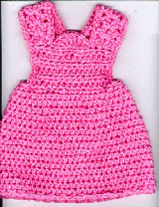 "Jumper Dress for 18"" Doll"