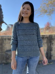 Easy Bead Stitch Pullover