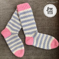 Softee Striped Socks