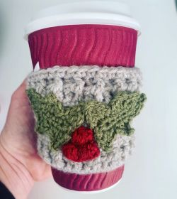 Christmas coffee cosy