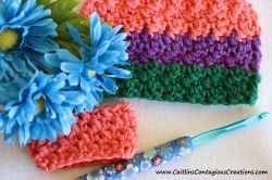 Lemon Peel Crochet Stitch Tutorial