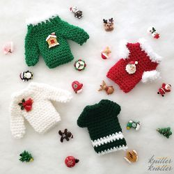 Christmas Sweater Gift Card Holder