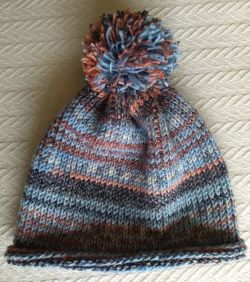 Easy Tunisian Hat