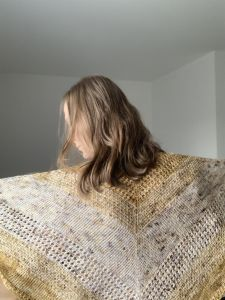 Misty Sunrise Shawl