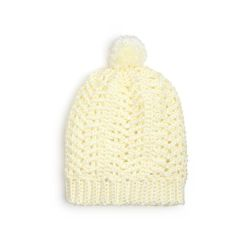 Caron Faux Cables Hat