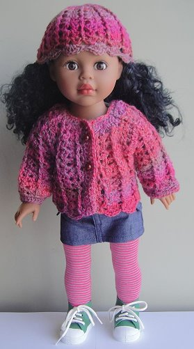 Crochet Patterns Galore 18 Shell Stitch Doll Set