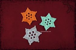 Mini star snowflakes