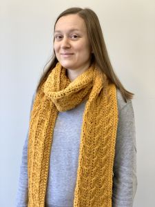 Winding Cables Scarf