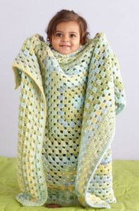 Limeade Granny Throw