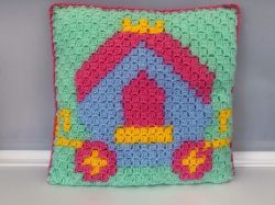 C2C princess carriage cushion