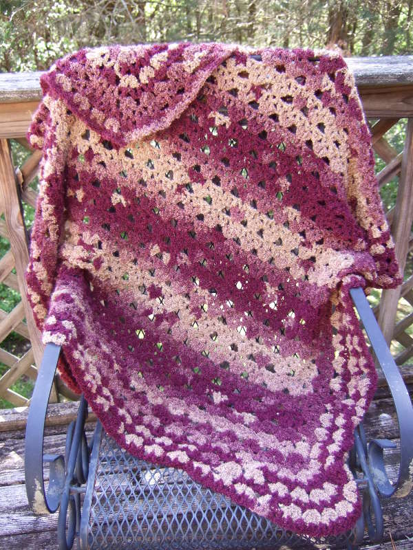 Crochet Patterns Galore No Beginning Chain Basket Pattern Throw