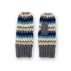 Let's Stripe Mittens