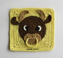 Year of The Ox Granny Square