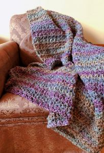 Easy Weekend Crochet Afghan