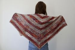 Sienna Harvest Berry Shawl