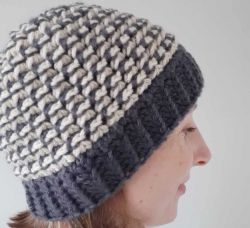Trinity Stitch Crochet Hat