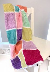 Busy Lizzy's Patchwork Blanket