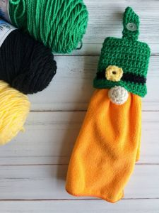 Leprechaun Gnome Towel Topper