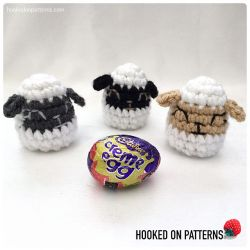 Easter Egg Lamb Creme Egg Cosy & Pencil Topper
