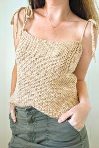 Crochet Seaside Tank Top