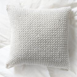Farmhouse Style Crochet Pillow