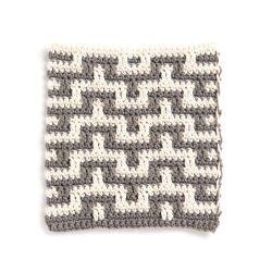 Mosaic Stitch Dishcloth