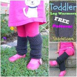 Toddler Leg Warmers
