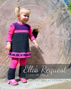 Ella's Request - Toddler Dress
