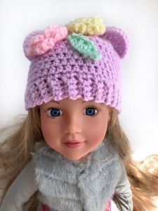 Cutie bear dolls hat