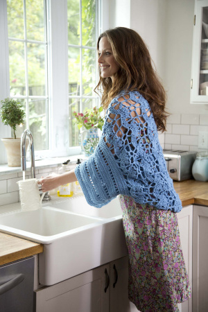 Crochet Patterns Galore Open Air Shrug