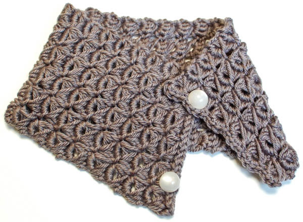 Crochet Patterns Galore Broomstick Lace Cowl