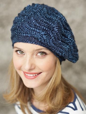 Crochet Patterns Galore Wave Stitch Beret